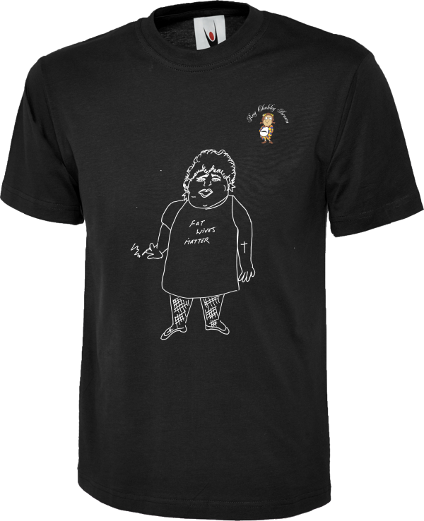 Chubby Fat Wives Matter T Shirt design 4