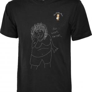 Chubby Fat Wives Matter T Shirt design 8
