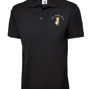 Roy Chubby Brown Polo Black