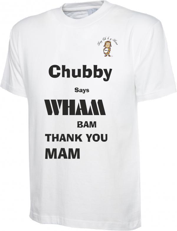 Roy Chubby Brown WHAM Bam T Shirt