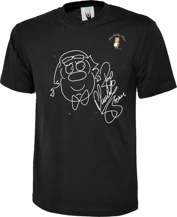 Roy Chubby Brown Caricature Sketch T Shirt