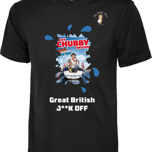 Roy Chubby Brown DVD T Shirts Great British Jerk Off