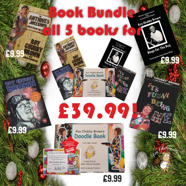 Chubby Brown Merry Readmas Book Bundle