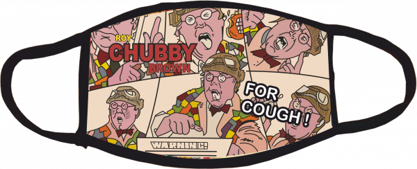 Chubby Brown Comic Face Mask